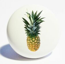 PINEAPPLE  HOME DECOR CERAMIC KNOB DRAWER CABINET PULL