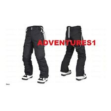 M3/MILLENNIUM THREE MENS INSULATED MOE SNOWBOARD/SKI PANTS W/SUSPENDERS NEW SALE