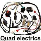 QUAD ELECTRICS,70cc-110cc magneto,stator,coil,cdi,Ngk,solenoid,rectifier harness