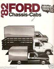 Truck Brochure - Ford - Chassis-Cabs - 1982 (TB355)