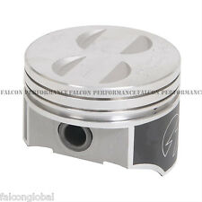 Speed Pro Ford 302/5.0 HO Forged Coated Flat Top (8) Pistons+MOLY Rings +.030