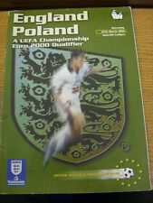 27/03/1999 England v Poland [At Wembley] (slight creased). Thanks for viewing th