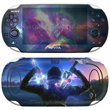 POPSKIN Skin Decal Stickers For PS VITA ORIGINAL PCH-1000 1st Gen Console SAO#08