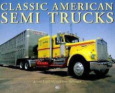 Classic American Semi-Trucks, Lipschultz, jeremy, Acceptable Book