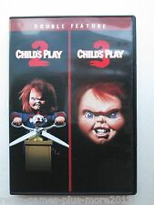 Child's Play 2/Child's Play 3 Double Feature (DVD, 2015) NTSC (Region 1 NTSC)
