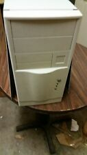 New AT MINI Tower PC Computer Case Build Pentium 486 Enclosure Vintage w/ power