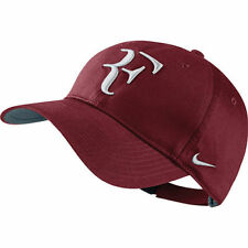 New Nike RF Roger Federer Hybrid Hat Cap Team Red / Tennis 371202-678-Sold Out