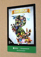 Xbox One Exclusive promo Rare Replay Card from Gamescom 2015