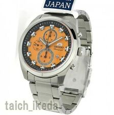 Genuine Official ORIENT WV0511TT Neo70's New Chronograph Watch from Japan