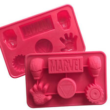 Cake Mold Silicone DIY Baking Tools Ice Cube Cookie Tray For Iron Man Lover