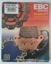 BMW C1 125 / 200 (1999 to 2003) EBC Double-H Sintered REAR Brake Pads (FA213HH)