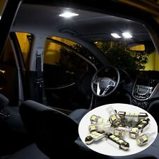 12 x White Bulbs Led Light Interior Package Kit For 2001-2006 Mazda Tribute