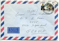 LETTRE  GRECE  / ST GENIS LAVAL FRANCE   PAR AVION  AIR MAIL