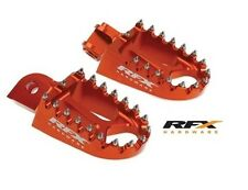 RFX Wide Foot Pegs KTM SX144 SX150 08-13 SX250F EXC250F 06-13 Footrests