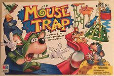 MOUSE TRAP GAME 2005 MILTON BRADLEY HASBRO WITH PLANS PLUS SPANISH INSTRUCTIONS