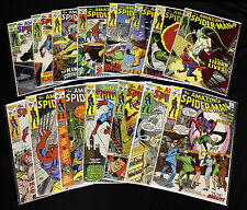 15 Different Amazing Spider-Man Comic books. VG to VF+ (#76 - 99) Priced to Sell