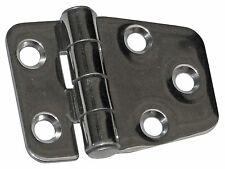 MARINE STAINLESS STEEL POLISHED DOOR HINGE FOR BOATS, CARAVAN & RV - FIVE OCEANS