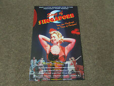 SONG of SINGAPORE Funny Musical 2001 MAYFAIR Theatre Original Poster