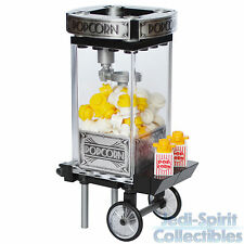 Lego Custom Creation - Old Fashioned Black & Silver Color Popcorn Machine *NEW*