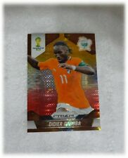 2014 Panini Prizm World Cup Yellow Red Pulsar Didier Drogba - Ivory Coast #60