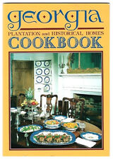 GEORGIA PLANTATION AND HISTORICAL HOMES COOKBOOK BY SUSAN C TRUDEAU-VG PB