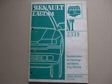 Renault Laguna (B56D, B56M) Manual de taller NT2339 Motor N7Q 700/704