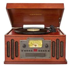 Crosley Deer Park Musician Entertainment Center-Paprika CR704C-PA Turntable NEW