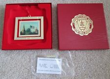 NOTRE DAME 2002 GOD COUNTRY NOTRE DAME RETIRED ORNAMENT NEW IN BOX