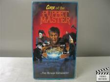 Curse of the Puppet Master VHS George Peck, Emily Harrison
