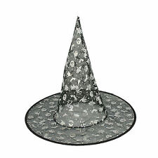 Girls Witches Hat Halloween Fancy Dress Witch Hat