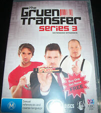The Gruen Transfer Series 3 (Wil Anderson) (Aust Region 4) ABC DVD Like New Mint