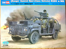 Hobbyboss 1:35 Ranger Special Operations Vehicle RSOV with MG  Model Kit