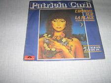 PATRICIA CARLI 45 TOURS FRANCE L'HOMME SUR LA PLAGE