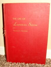 THE LIFE OF LORENZO SNOW by Thomas C. Romney 1955 1STED LDS MORMON RARE