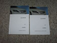 2010 Lexus LS600hL LS 600h L Factory Original Owner's Owners Manual Set