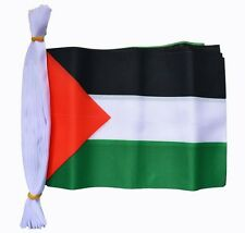Palestine Flag Bunting - 9M & Polyester - Free Gaza - In Stock Fast Post