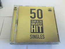Various Artists : 50 Years of the Greatest Hit Singles (2CDs) (2002)
