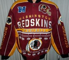 "Washington Redskins NFL Jacket 2014 ""Blitz"" Twill Jacket Red & Yellow - Medium"