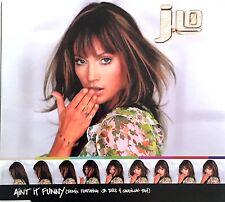 Jennifer Lopez Featuring Ja Rule & Caddillac Tah Maxi CD Ain't It Funny (Remi
