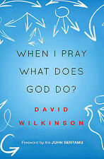 When I Pray, What Does God Do? by David Wilkinson (Paperback, 2015)