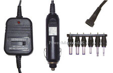 DC REGULATED CAR POWER ADAPTOR/SUPPLY/CHARGER 500MA 1.5V/3V/4.5V/6V/7.5V/9V/12V