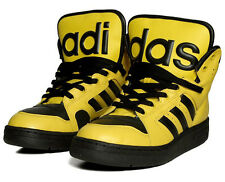 "Adidas x Jeremy Scott Instinct Hi Shoes ""Black & Yellow""  {Bumble Bee}"