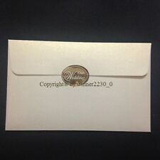 FOIL Metallic SILVER or GOLD Envelope Seal OUR WEDDING INVITATION GIFT STICKER