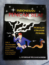 EXTREMELY RARE FIND -SIGNED AND NUMBERED PENCAK SILAT BOOKS