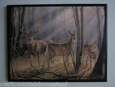 Deer Big Buck Wall Decor Plaque country lodge sign hunting cabin picture medium