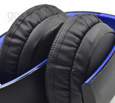Ear pads cushion for SONY gold Wireless PS3 PS4 7.1 Virtual Surround headset bk