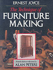 The Technique of Furniture Making by Ernest Joyce 2000 Hardback Book