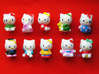 10PCS Hello Kitty Various Characters Cartoon Action Figures PVC 4cm