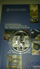 ROMANIA 10 Lei 2009 PROOF euro Silver COIN European UNION Romanian Rumänien UNC