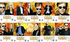 CSI Miami Complete TV Series Collection 60 Discs Season 1 2 3 4 5 6 7 8 9 10 DVD